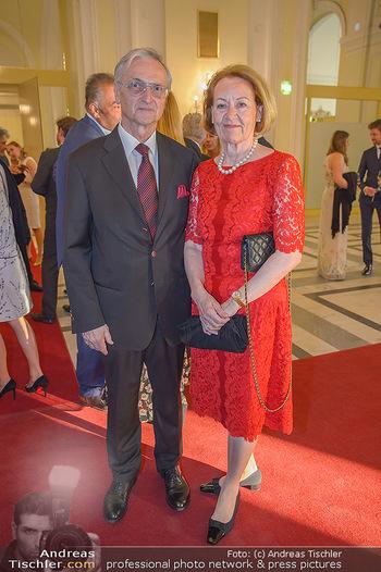Trophee Gourmet - Hofburg - Do 03.05.2018 - Karl und Johanna KOLARIK6