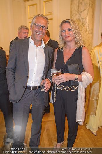 Trophee Gourmet - Hofburg - Do 03.05.2018 - Gerhard ZADROBILEK, Doris ITA12