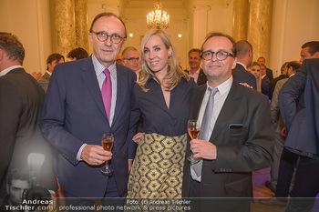 Trophee Gourmet - Hofburg - Do 03.05.2018 - Hans SCHMID, Nadja BERNHARD, Christian GR�NWALD14