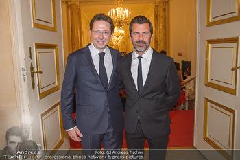 Trophee Gourmet - Hofburg - Do 03.05.2018 - Heinz REITBAUER, Andreas CAMINADA20