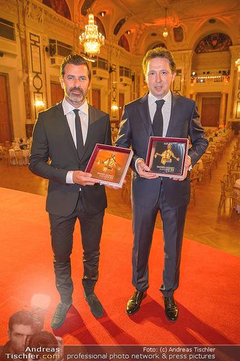 Trophee Gourmet - Hofburg - Do 03.05.2018 - Heinz REITBAUER, Andreas CAMINADA23