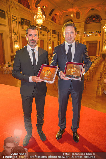 Trophee Gourmet - Hofburg - Do 03.05.2018 - Heinz REITBAUER, Andreas CAMINADA24