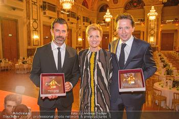 Trophee Gourmet - Hofburg - Do 03.05.2018 - Birgit und Heinz REITBAUER, Andreas CAMINADA26