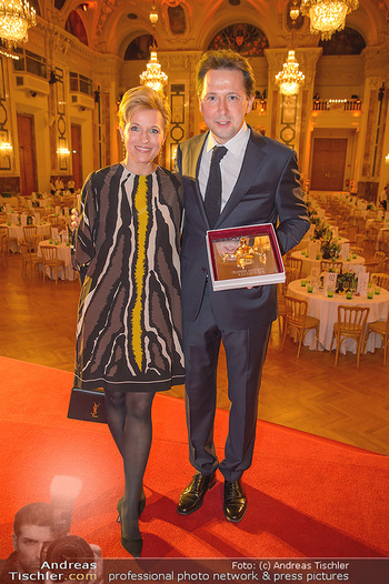 Trophee Gourmet - Hofburg - Do 03.05.2018 - Birgit und Heinz REITBAUER27