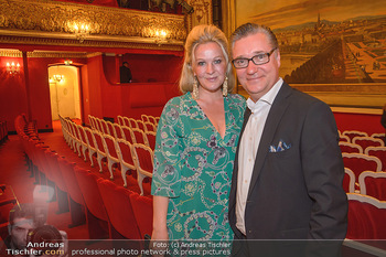 Premiere ´Der Gott des Gemetzels´ - Theater in der Josefstadt - Do 03.05.2018 - Nina und Felix ADLON2