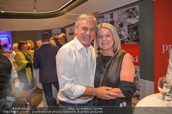 Pro Juventute Charity Gala - Studio 44 - Mo 07.05.2018 - Walter SCHACHNER mit Ehefrau Conny Cornelia10