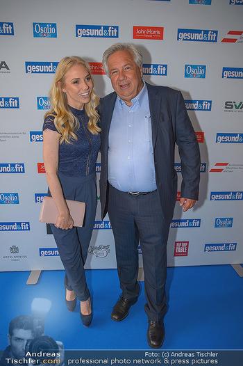 Gesund & Fit Award - Novomatic Forum - Di 15.05.2018 - Wolfgang FELLNER mit Tochter Jenny24