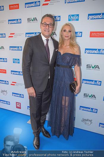 Gesund & Fit Award - Novomatic Forum - Di 15.05.2018 - Heinz-Christian STRACHE mit Ehefrau Philippa35