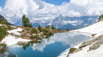 Feel Austria - Österreich - Mi 16.05.2018 - Dachstein, Bergwelt, Alpen, Panorama, blauer Himmel, Fernsicht, 10