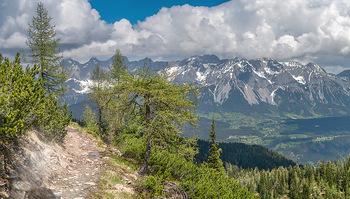 Feel Austria - Österreich - Mi 16.05.2018 - Dachstein, Bergwelt, Alpen, Panorama, Wanderung, Fernsicht, Spie14