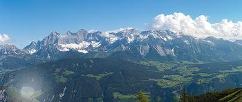 Feel Austria - Österreich - Mi 16.05.2018 - Dachstein, Bergwelt, Alpen, Panorama, Wetter, blauer Himmel, Fer15
