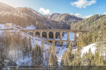 Feel Austria - Österreich - Mi 16.05.2018 - Semmeringbahn Viadukt vor Renovierung im Winter, Nostalgie, Semm29