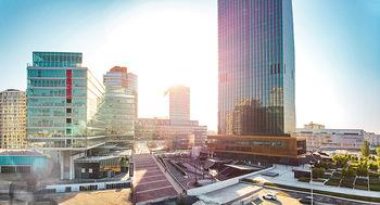 Feel Austria - Österreich - Mi 16.05.2018 - Donauplatte mit DC Tower1, TechGate, Strabag, UNO City, Reichsbr40