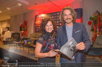 25 Jahre LifeBall PK - Hotel LeMeridien - Mi 16.05.2018 - Thomas KAMENAR, Sandra K�NIG11