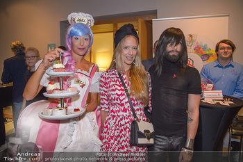 25 Jahre LifeBall PK - Hotel LeMeridien - Mi 16.05.2018 - Vera B�HNISCH, Conchita (WURST)  mit Str�ck-Promotiondame20