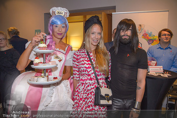 25 Jahre LifeBall PK - Hotel LeMeridien - Mi 16.05.2018 - Vera B�HNISCH, Conchita (WURST)  mit Str�ck-Promotiondame21