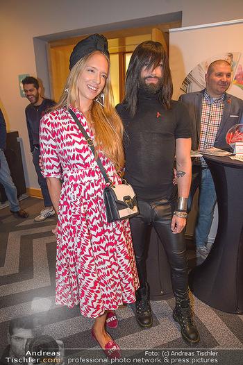 25 Jahre LifeBall PK - Hotel LeMeridien - Mi 16.05.2018 - Vera B�HNISCH, Conchita (WURST)22