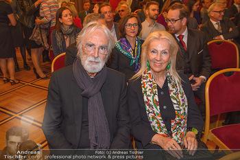 Goldenes Verdienstzeichen Verleihung - Rathaus Wien - Do 17.05.2018 - Susi und Michael HANEKE1