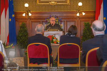 Goldenes Verdienstzeichen Verleihung - Rathaus Wien - Do 17.05.2018 - Gerald MATT, Michael K�HLMEIER, Heidemarie UHL5