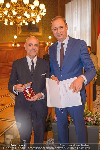 Goldenes Verdienstzeichen Verleihung - Rathaus Wien - Do 17.05.2018 - Gerald MATT, Andreas Mailath POKORNY7