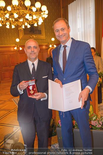 Goldenes Verdienstzeichen Verleihung - Rathaus Wien - Do 17.05.2018 - Gerald MATT, Andreas Mailath POKORNY8