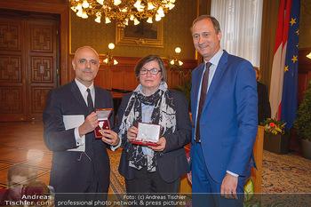 Goldenes Verdienstzeichen Verleihung - Rathaus Wien - Do 17.05.2018 - Heidemarie UHL, Gerald MATT, Andreas Mailath POKORNY10