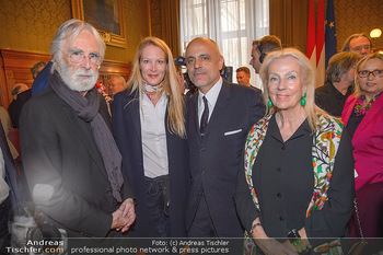 Goldenes Verdienstzeichen Verleihung - Rathaus Wien - Do 17.05.2018 - Susi und Michael HANEKE, Gerald MATT, Eva DICHAND21