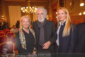 Goldenes Verdienstzeichen Verleihung - Rathaus Wien - Do 17.05.2018 - Susi und Michael HANEKE , Eva DICHAND22
