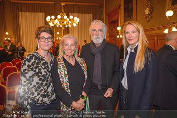 Goldenes Verdienstzeichen Verleihung - Rathaus Wien - Do 17.05.2018 - Susi und Michael HANEKE, Eva DICHAND, Monika SOMMER23