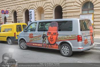 Andreas Gabalier Vergiss Mein nicht CD Präsentation - Palais Wertheim, Wien - Di 29.05.2018 - Andreas GABALIER Bus Tourbus, branding19
