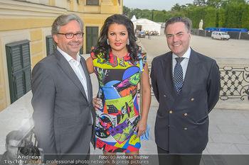 PK vor Sommernachtskonzert - Schloss Schönbrunn - Mi 30.05.2018 - Anna NETREBKO, Alexander WRABETZ, Daniel FROSCHAUER1