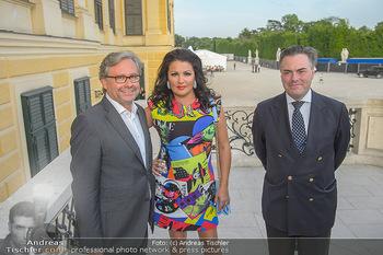 PK vor Sommernachtskonzert - Schloss Schönbrunn - Mi 30.05.2018 - Anna NETREBKO, Alexander WRABETZ, Daniel FROSCHAUER18