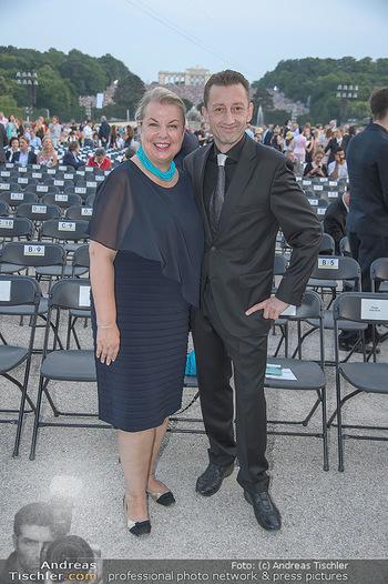 Sommernachtskonzert 2018 - Schloss Schönbrunn - Do 31.05.2018 - Beate HARTINGER-KLEIN mit Ehemann Andreas KLEIN10