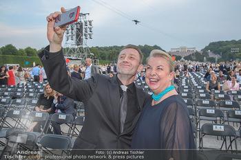 Sommernachtskonzert 2018 - Schloss Schönbrunn - Do 31.05.2018 - Beate HARTINGER-KLEIN mit Ehemann Andreas KLEIN12