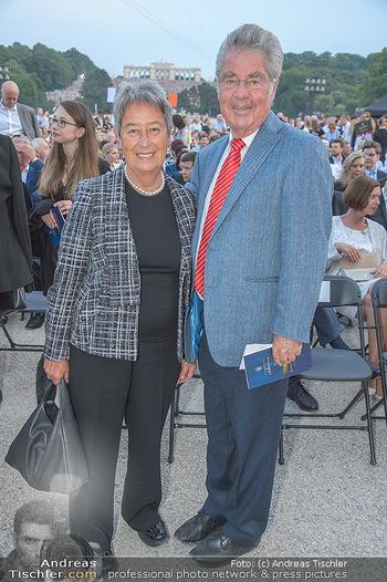Sommernachtskonzert 2018 - Schloss Schönbrunn - Do 31.05.2018 - Margit und Heinz FISCHER27