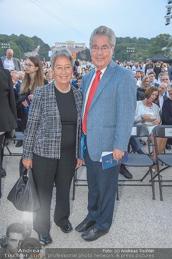 Sommernachtskonzert 2018 - Schloss Schönbrunn - Do 31.05.2018 - Margit und Heinz FISCHER28