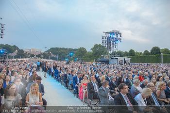Sommernachtskonzert 2018 - Schloss Schönbrunn - Do 31.05.2018 - Zuschauer, Menschenmassen, Publikum, Gloriette, Schloss Sch�nbr41