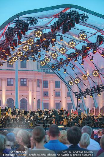 Sommernachtskonzert 2018 - Schloss Schönbrunn - Do 31.05.2018 - B�hnenfoto, Zuschauer, Schloss Sch�nbrunn62