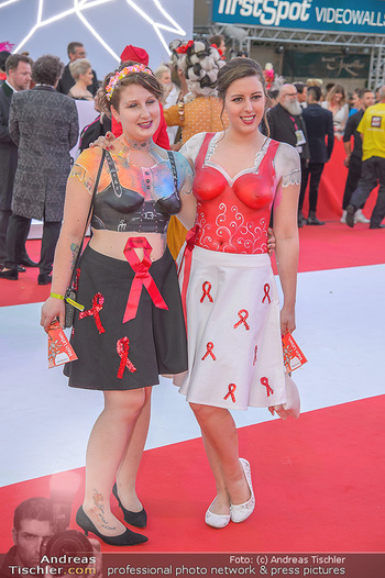 LifeBall 2018 - Red Carpet - Rathaus - Sa 02.06.2018 - 99