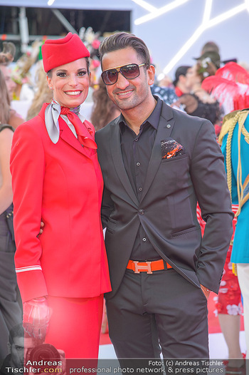 LifeBall 2018 - Red Carpet - Rathaus - Sa 02.06.2018 - Fadi MERZA116