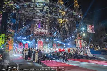 Lifeball 2018 - Eröffnung - Rathaus - Sa 02.06.2018 - Rathaus, Kulisse, B�hnenbild, Show, Er�ffnung139