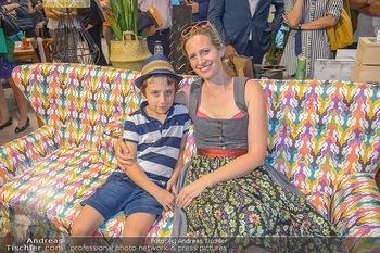 Modepalast Opening - Post am Rochus - Mi 06.06.2018 - Maxi BLAHA mit Sohn Nepomuk39