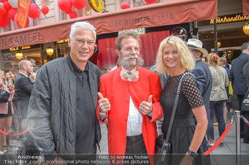 400 Jahre Schwarzes Kameel mit Campari - Zum schwarzen Kameel - Mi 06.06.2018 - Toni POLSTER mit Freundin Birgit, Johann Georg GENSBICHLER49