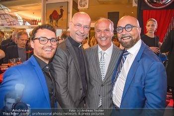 400 Jahre Schwarzes Kameel mit Campari - Zum schwarzen Kameel - Mi 06.06.2018 - Luigi BARBARO mit Sohn, Toni FABER, Peter FRIESE100