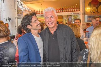 400 Jahre Schwarzes Kameel mit Campari - Zum schwarzen Kameel - Mi 06.06.2018 - Stefano BERNARDIN, Toni POLSTER101