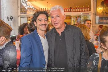 400 Jahre Schwarzes Kameel mit Campari - Zum schwarzen Kameel - Mi 06.06.2018 - Stefano BERNARDIN, Toni POLSTER102