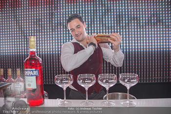 400 Jahre Schwarzes Kameel mit Campari - Zum schwarzen Kameel - Mi 06.06.2018 - Barkeeper Cocktails mixen, drink122