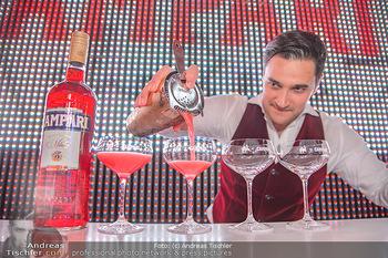 400 Jahre Schwarzes Kameel mit Campari - Zum schwarzen Kameel - Mi 06.06.2018 - Barkeeper Cocktails mixen, drink124