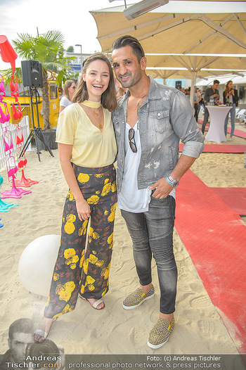 Calzedonia Beach Party - Tel Aviv Beach Club - Do 07.06.2018 - Julia FURDEA (Fadi MERZA)9