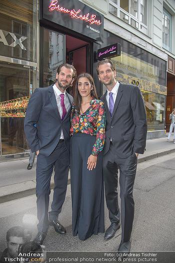 Opening - Brow and Lash Bar - Do 07.06.2018 - Alma MILCIC, Patrick und Andreas RAITZ21
